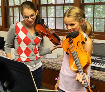 Wayland School of Music Violins